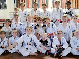 Karate students make the grade