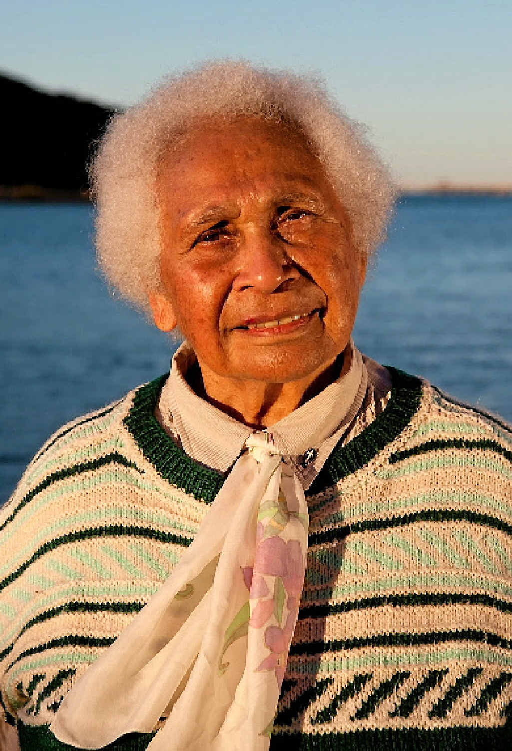 Mabel YowYeh Quakawoot, Bailai Elder was the last to be removed from Parliament house during a protest on Wednesday.