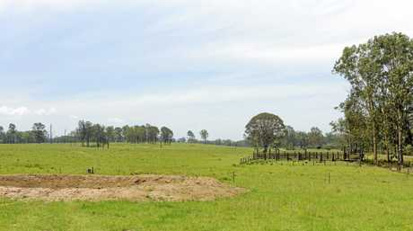 The land that is destined to house the new jail at Lavadia in the Pillar Vallley.