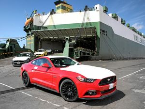 First Ford Mustang shipment arrives in Melbourne