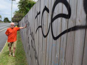 Nicklin Way graffiti