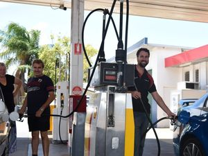 Shell service station on Toolooa St re-opens
