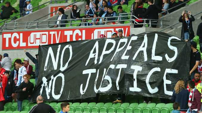 Melbourne City fans show their support last weekend. Photo: Getty Images.