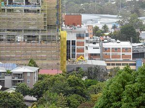 Storm damaged Lismore Hospital site remains off-limits