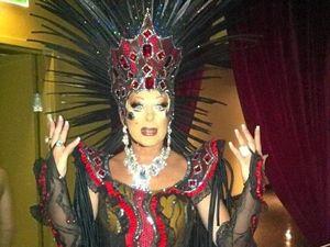 Drag queen diva celebrated in Maudeville exhibition