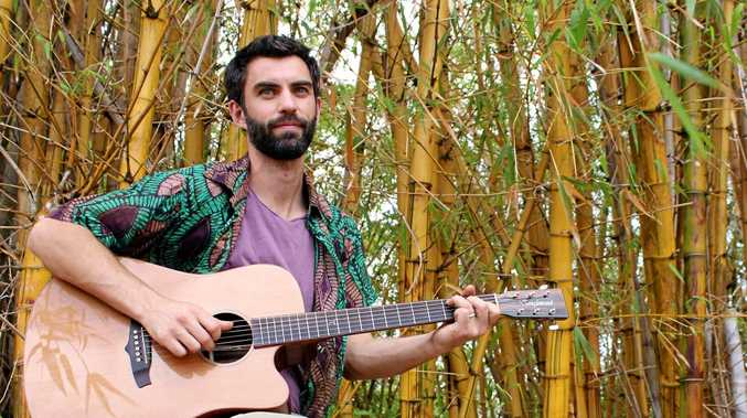 MADE WITH LOVE: Northern Rivers singer songwriter and music teacher Joe O'Keefe.