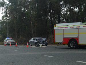 UPDATE:Woman in hopsital after Gladstone Benaraby crash