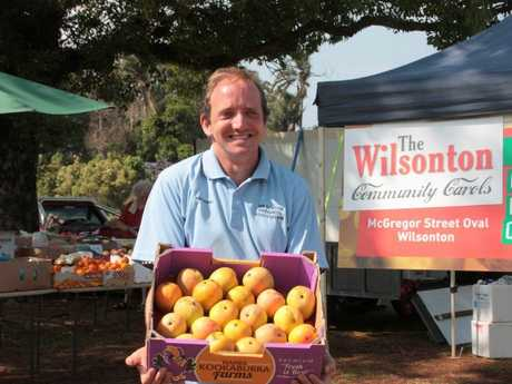 Wilsonton Progress Association chairman Anthony Hurle and his team have some up with a buy local market to raise funds for the annual carols event.