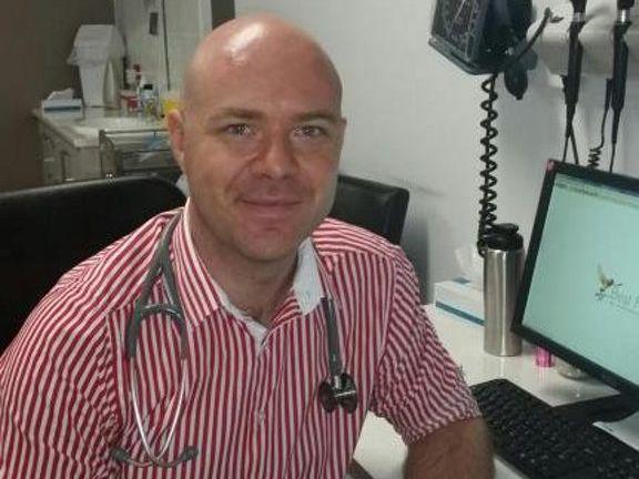Dr Stephen Lambert.
