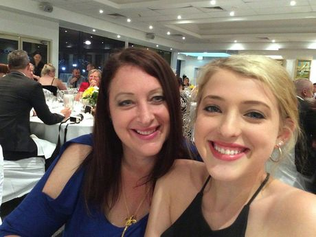 Paige Keam with her late mother, Donna Keam.