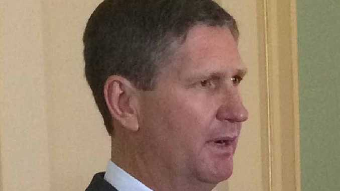 PARTING SHOT: Opposition Leader Lawrence Springborg.