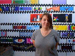 Yeppoon's Alexus leaves her mark in wall design