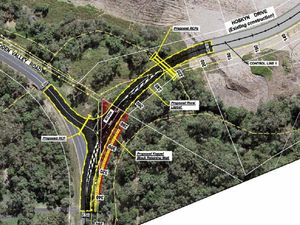 Push on for Hidden Valley Rd-Hoskyn Dve route