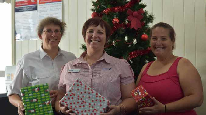 Maritta Hutley, Sueanne O'Neil from BEST employment and Kathryn Goldspink are organising the Warwick Community Christmas lunch for locals doing it tough on Christmas Day.