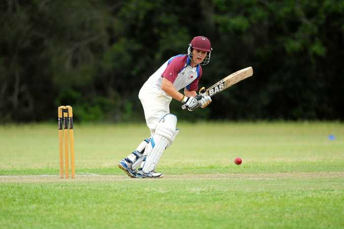 Damon Rootes is on the crest of a batting wave and a big score beckons.