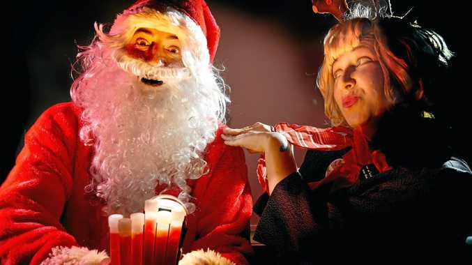 Peggy Popart and Father Christmas will usher in the festive season at the Carols by Candlelight celebration at Oakes Oval.