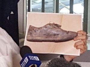 Search area revisited after Tiahleigh Palmer's shoe found