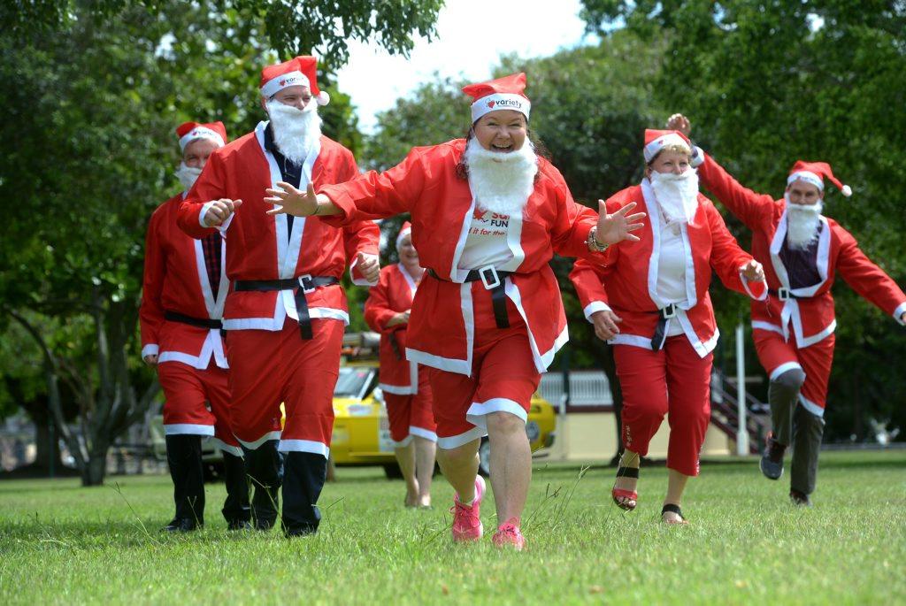 FUN RUN: Variety Santa Fun Run Bundaberg will be held at Alexandra Park this weekend. Money raised will support Variety, the Children's Charity of Queensland. Photo: Max Fleet / NewsMail
