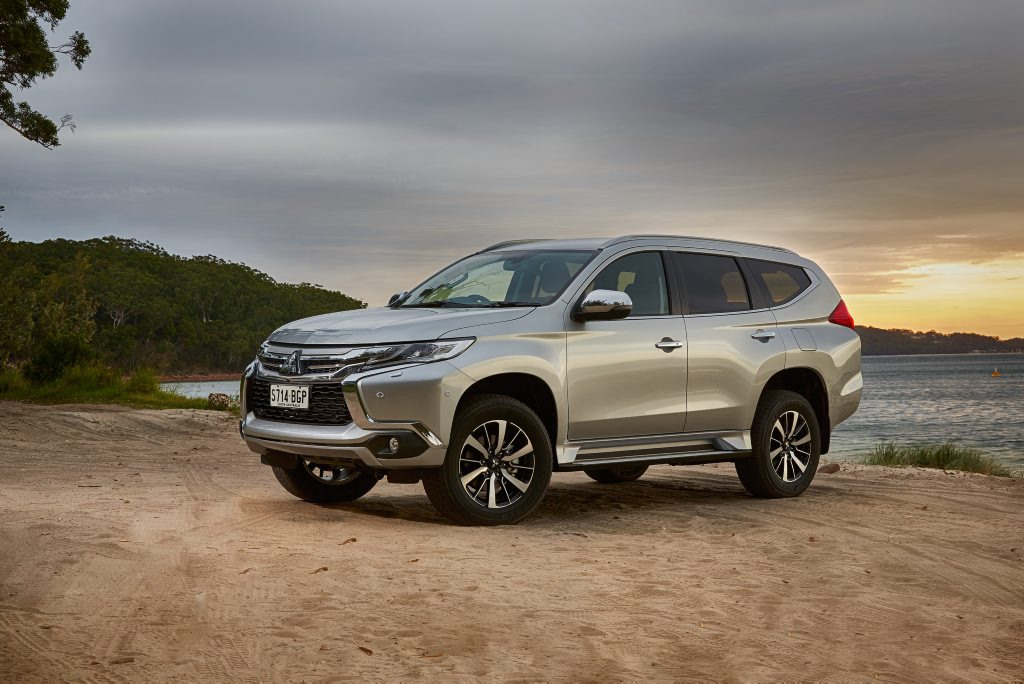2015 Mitsubishi Pajero Sport. Photo: Contributed