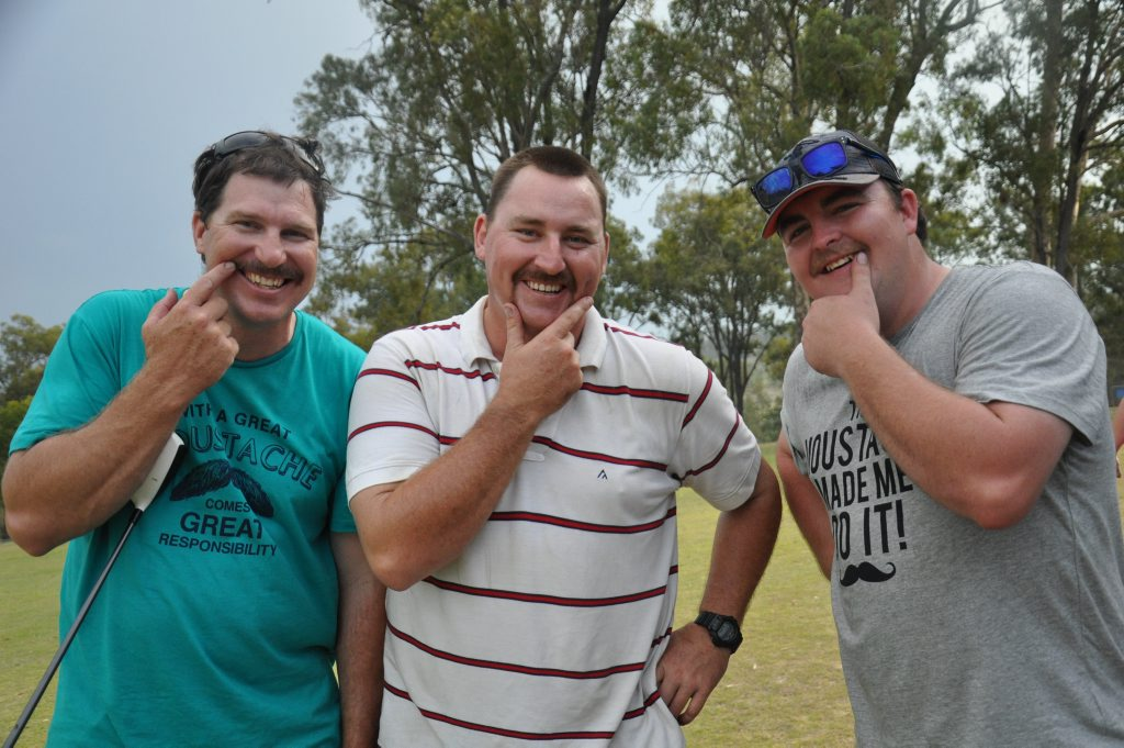 Mark Curtis, James Galloway and Bryce Dorries are the Monto Mo Bros.Photo Anastassia Perets / Central and North Burnett Times