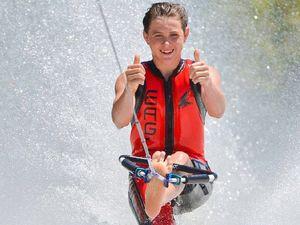 Queensland's best barefoot skiers strut their stuff