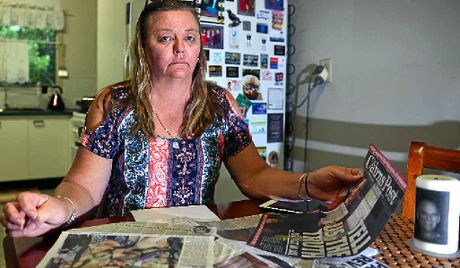 NO PAROLE: Tania Blood wants legislative change in murder cases after her brother's body has never been located.