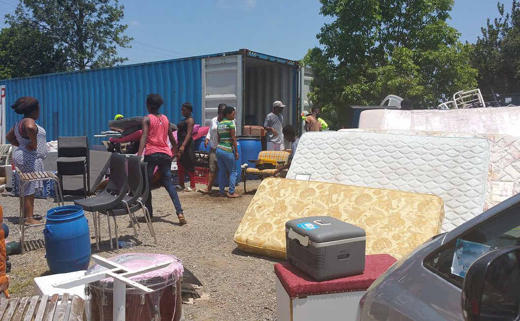 COMMITTED TO HELP: Lucy Adalyne's shipping containers bring hope to many orphans in Liberia.