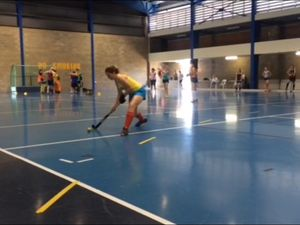 Fraser Coast's Indoor Hockey representatives train ahead of national championships