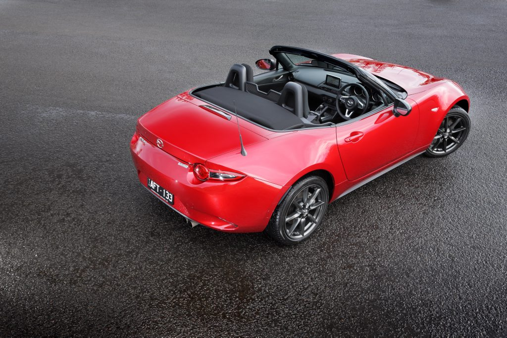 Mazda MX-5 2.0-litre. Photo: Contributed