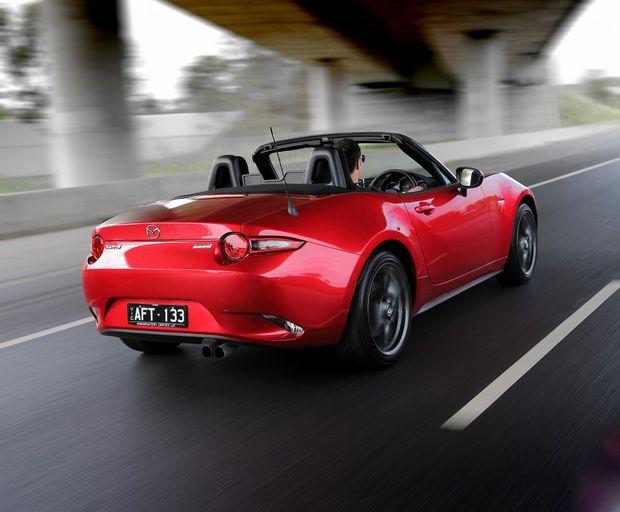 Mazda MX-5 2.0-litre. Photo: Contributed