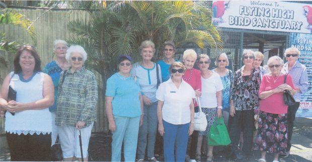Hervey Bay War Widows enjoying an outing together