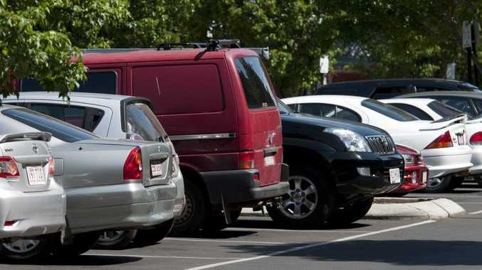 Toowoomba CBD car parks have changed to a one-hour limit, Wednesday, November 05, 2014. Photo Kevin Farmer / The Chronicle
