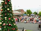 Casino's Christmas tree lights and street party gallery