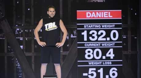 The Biggest Loser Families winner Daniel Jofre.