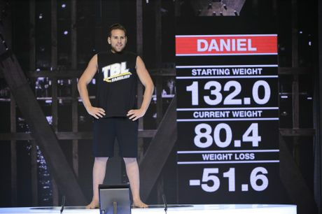 The Biggest Loser Families winner Daniel Jofre.