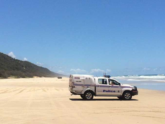 Police have closed Teewah Beach and called for the Bomb Squad after an object thought to be an explosive was found this morning.