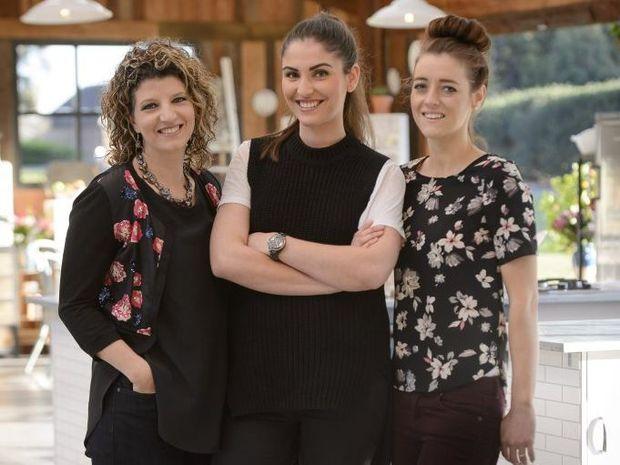 The Great Australian Bake Off finalists Suzy, Sian and Jasmin.