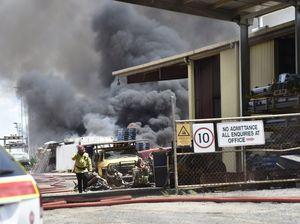 Tyre fire Taylor Street