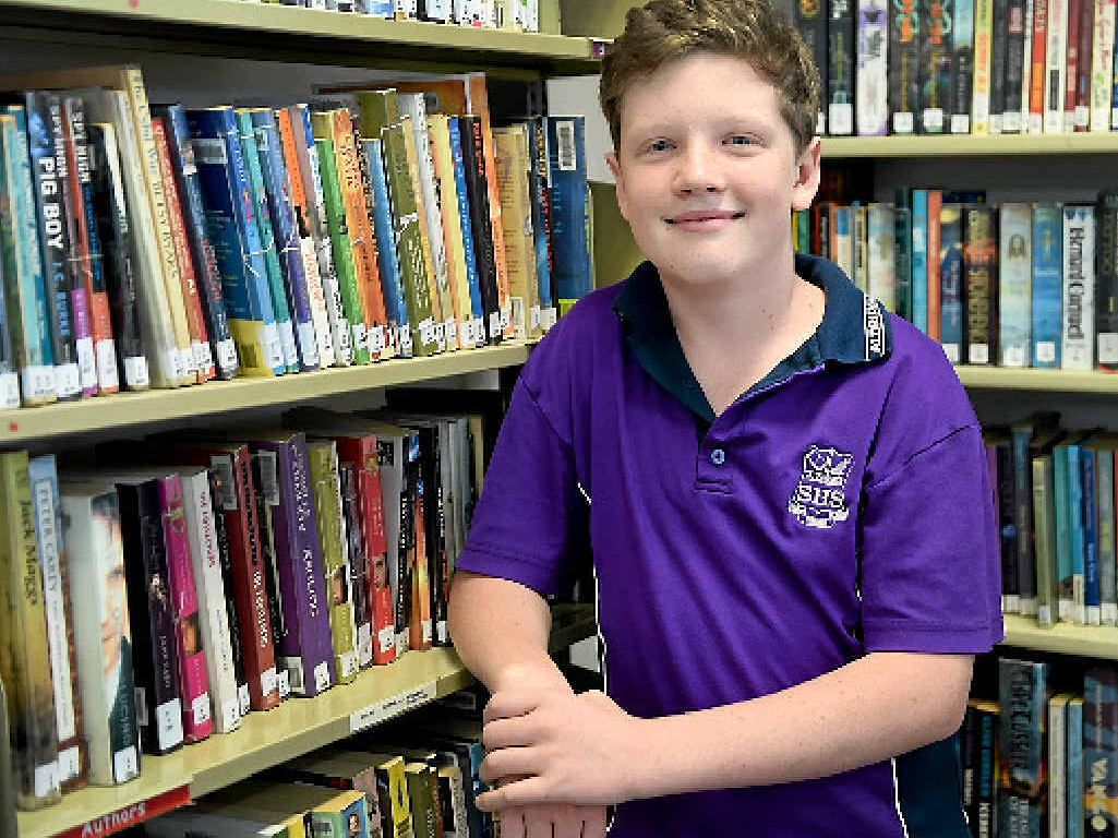 Aldridge student Shane Kelly took out first place in the UNSW English test.