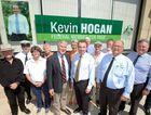 MAJOR BOOST: Kevin Hogan made five significant funding announcements in Lismore yesterday.