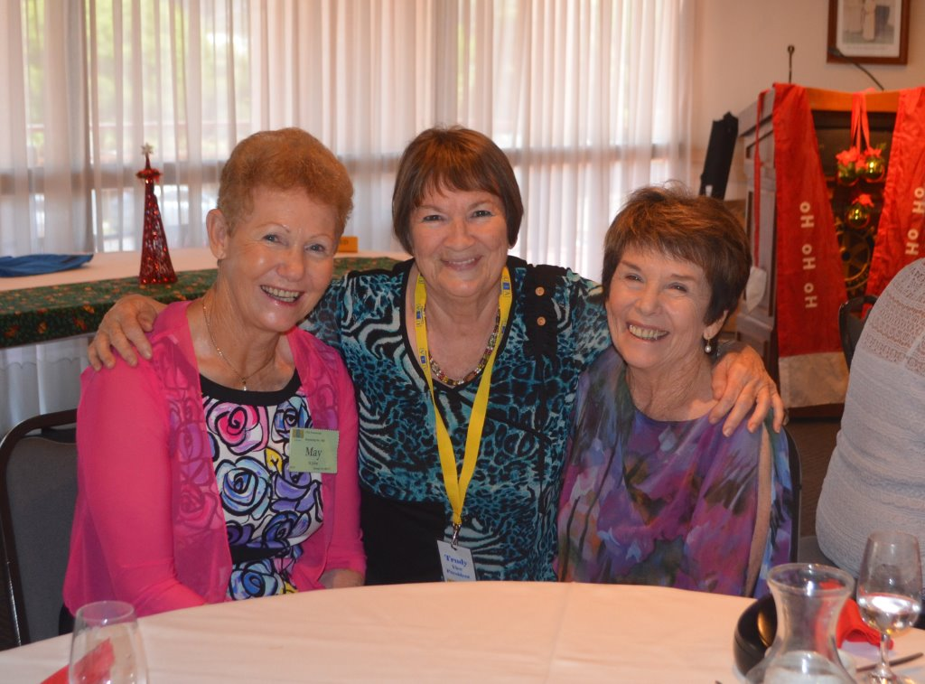 May St. John, Trudy Graham and Helen Fitzgerald