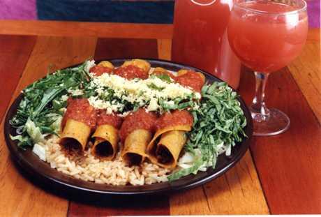 A dish from Montezuma's