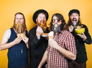 The Beards celebrate facial hair in Gladstone one last time