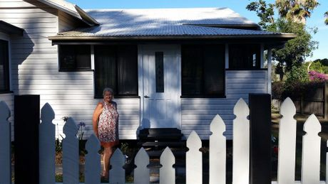 Michele Carlson couldn't afford to buy a home in 2012 after her marriage broke down. Now she has come back to Gladstone after living in Tin Can Bay for four years.