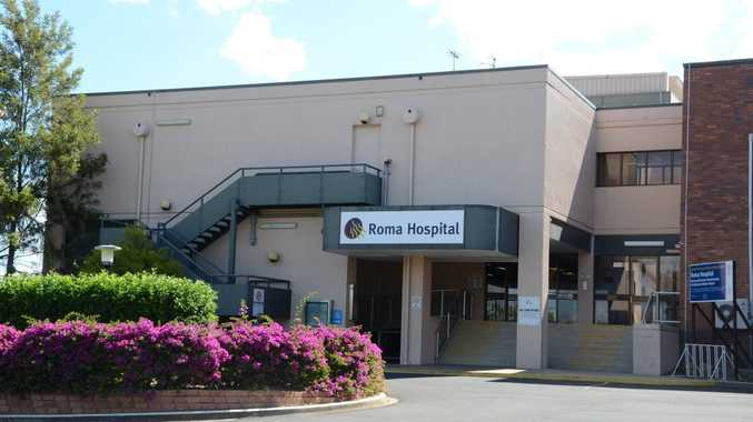 Roma Hospital will be undergoing repairs this week. Photo Contributed.