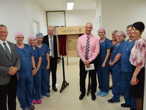 Gladstone Hospital opens new theatre