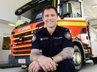 JOIN UP: Ripley Fire Station firefighter Michael Stephenson encourages people to join the Fire and Rescue Service.