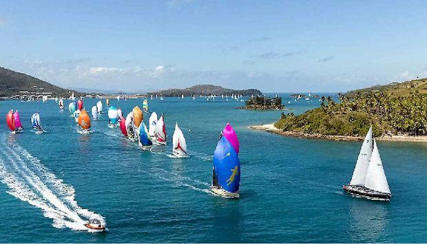 Hamilton Island Race Week will hit the nation's TV screens. Photo: Andrea Francolini