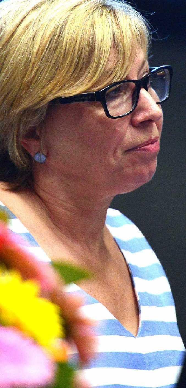 ADVOCATE: Australian of the Year Rosie Batty speaks at the University of the Sunshine Coast's Make It Stop' symposium.
