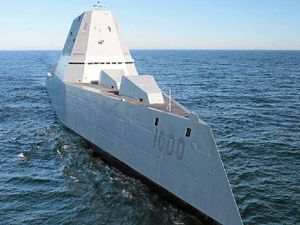 US spends billions on futuristic destroyer